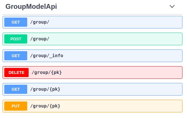 REST API — Flask AppBuilder